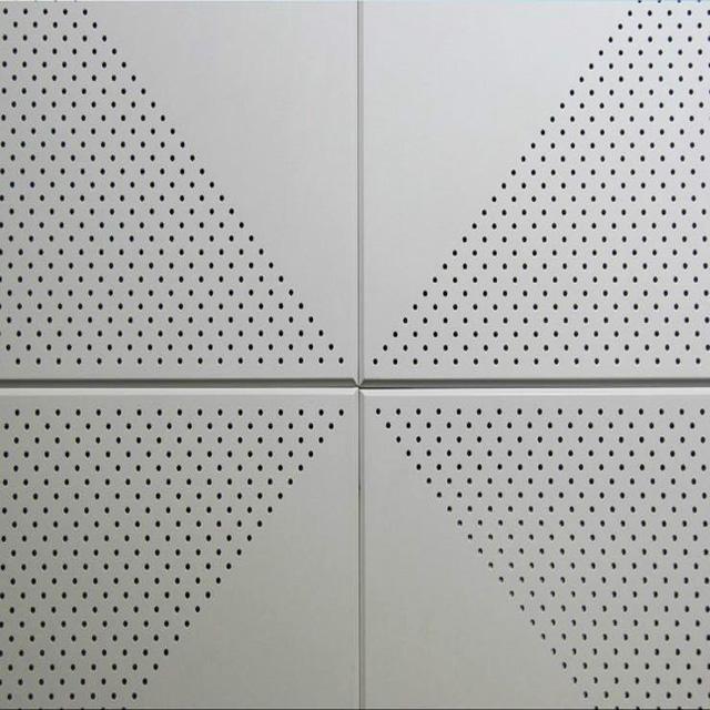 2020 дюймовая перфорированная металлическая потолочная плитка из пенопласта