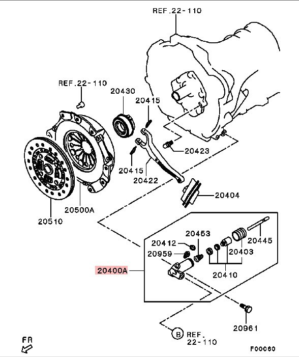 Detail Feedback Questions About Clutch Release Slave Cylinder Assy