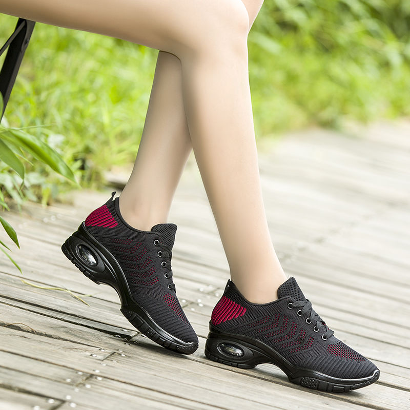 Latest Fashion Customized 35-40 Size Black Women Summer Breathable Sneakers Sport Shoes