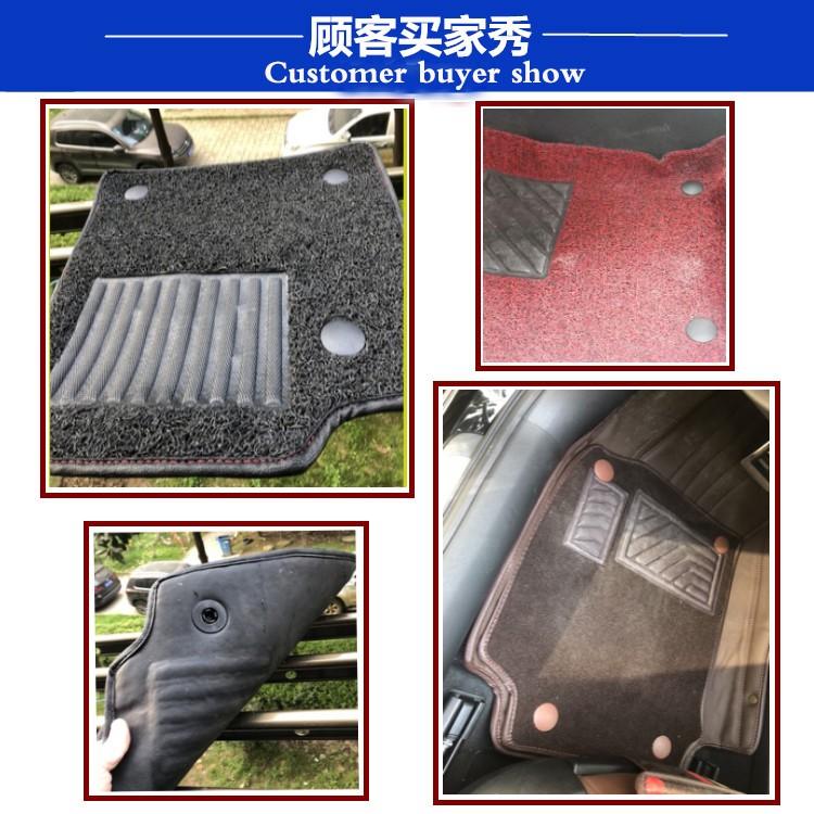 Best selling PC car mat carpet hard plastic clip buckle