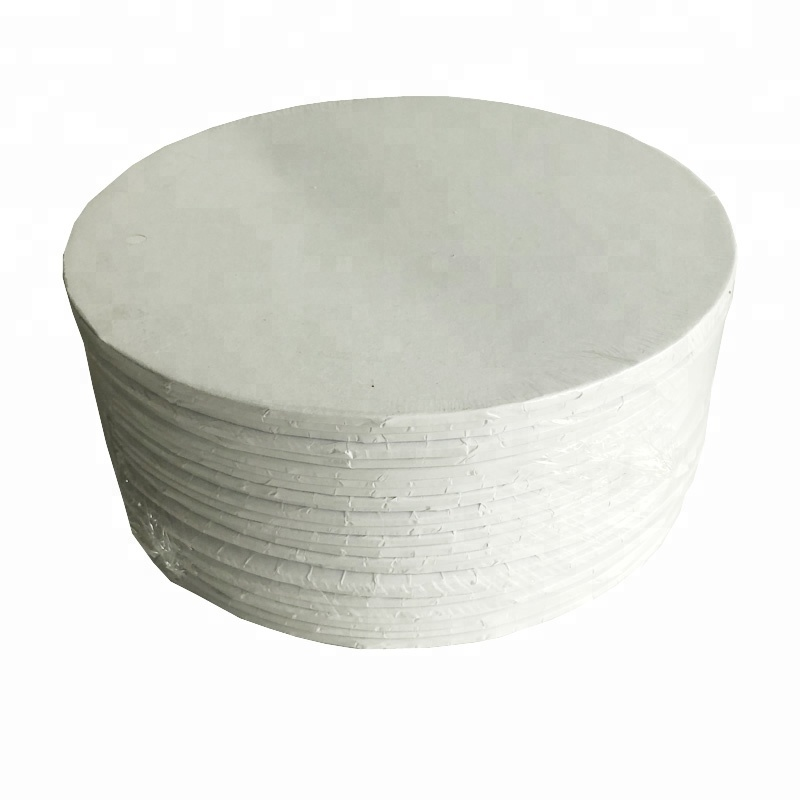 strong 3mm thickness Masonite white cake boards