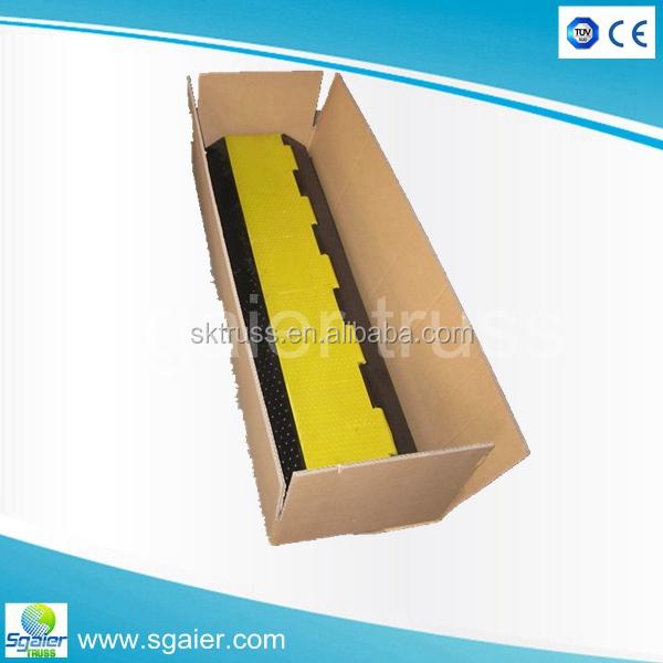 Лидер продаж прочный 5 каналов резиновый защитный аппаратор для кабели портативный лежачий полицейский