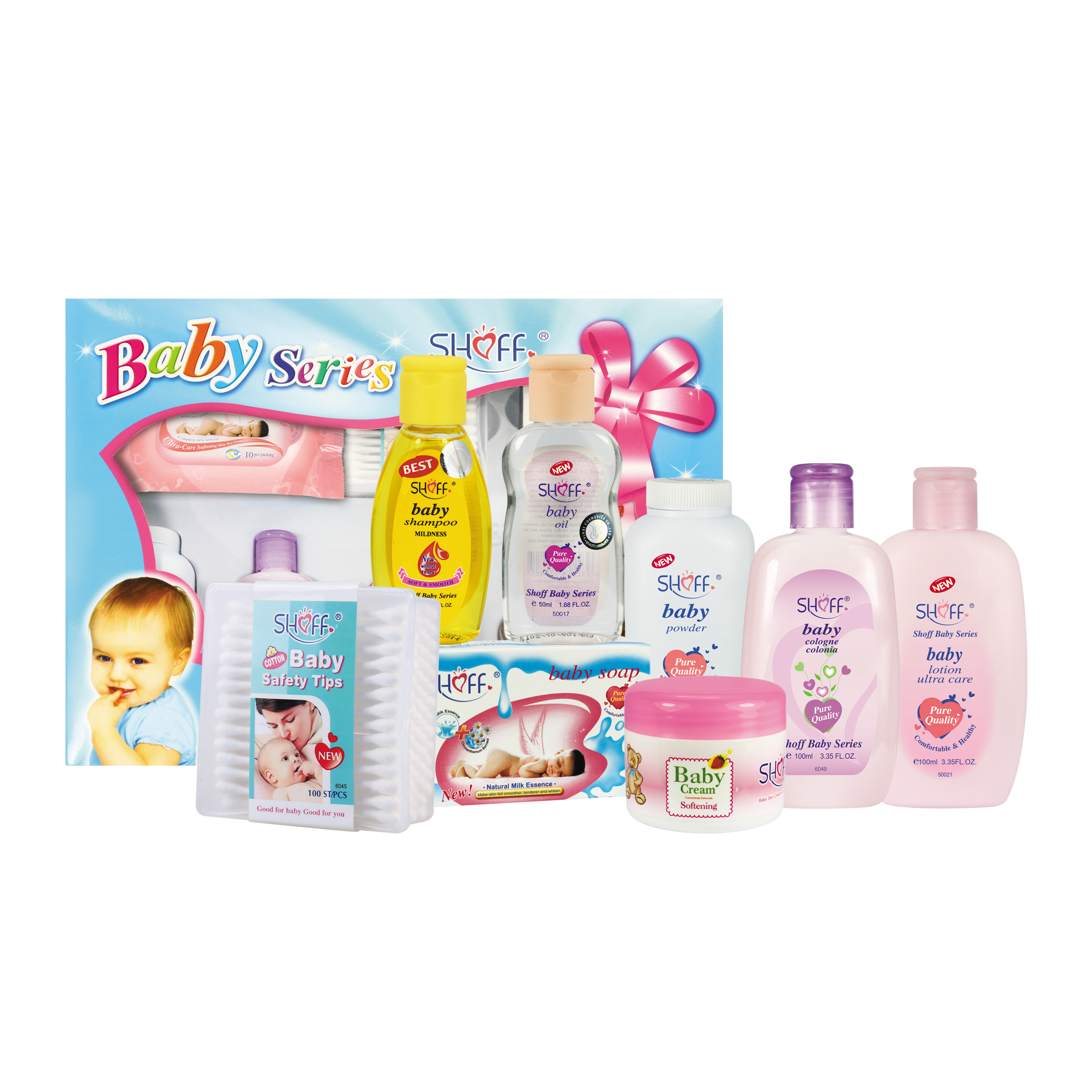 Gift Pack For Baby Daily Bath Time Solutions Gift Set To Nourish Skin For Baby 8 Items View Baby Bath Gift Set Shoff Product Details From Yozzi Co Ltd On Alibaba Com