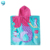 colorful 100% cotton hooded beach towel for kids
