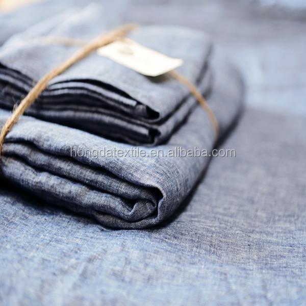 Винтажное/каменное постельное белье из французского льна, набор простыней