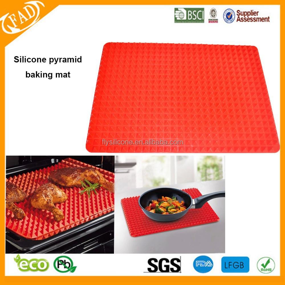 Non Stick Mat Pyramid Pan Silicone Baking Mat Safe