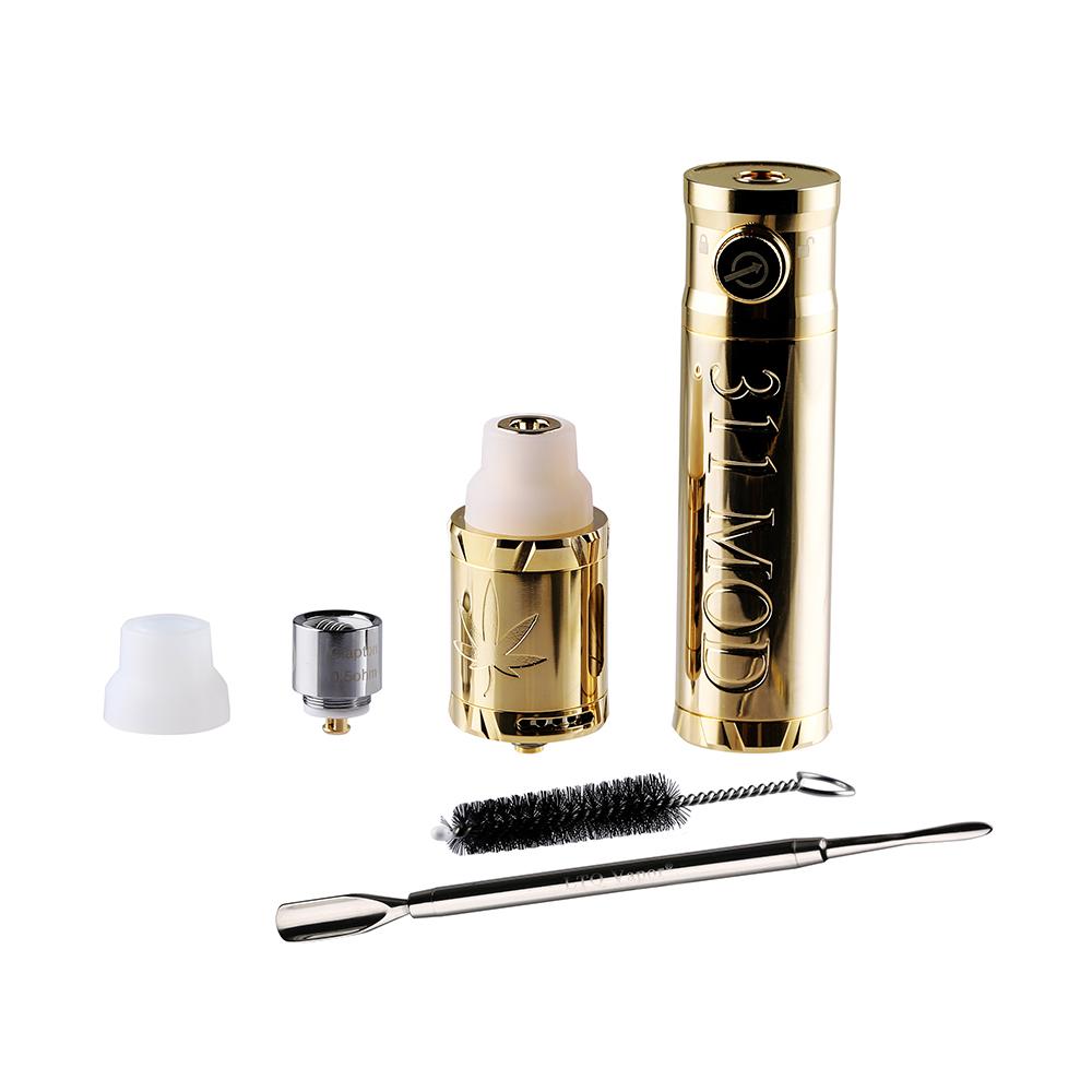 2019 New products Quartz wax oil vape Quartz bucket Heating chamber Stainless Steel Pyrex Glass vape pen