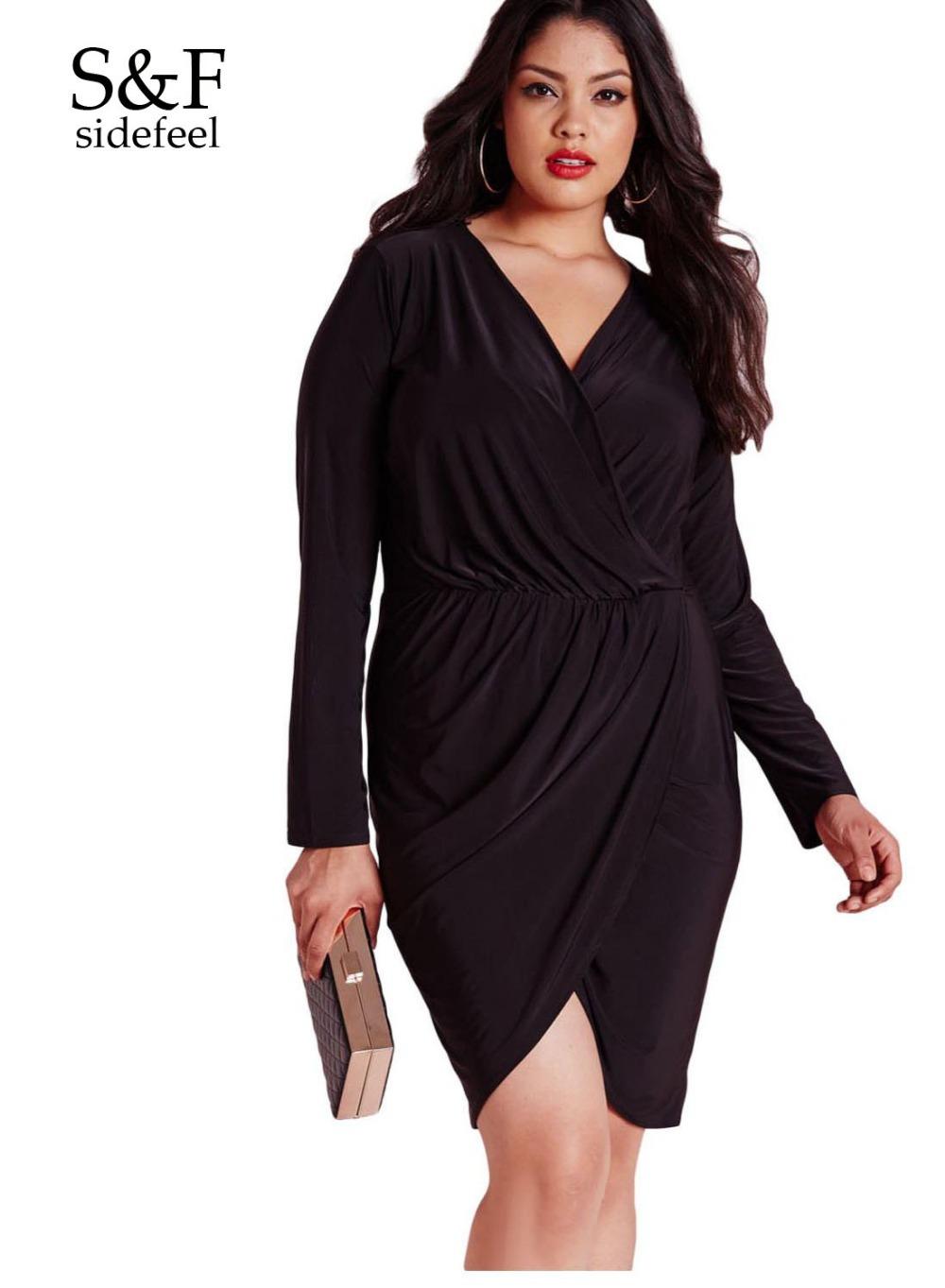 la mode des robes de france robe portefeuille noire pas cher. Black Bedroom Furniture Sets. Home Design Ideas