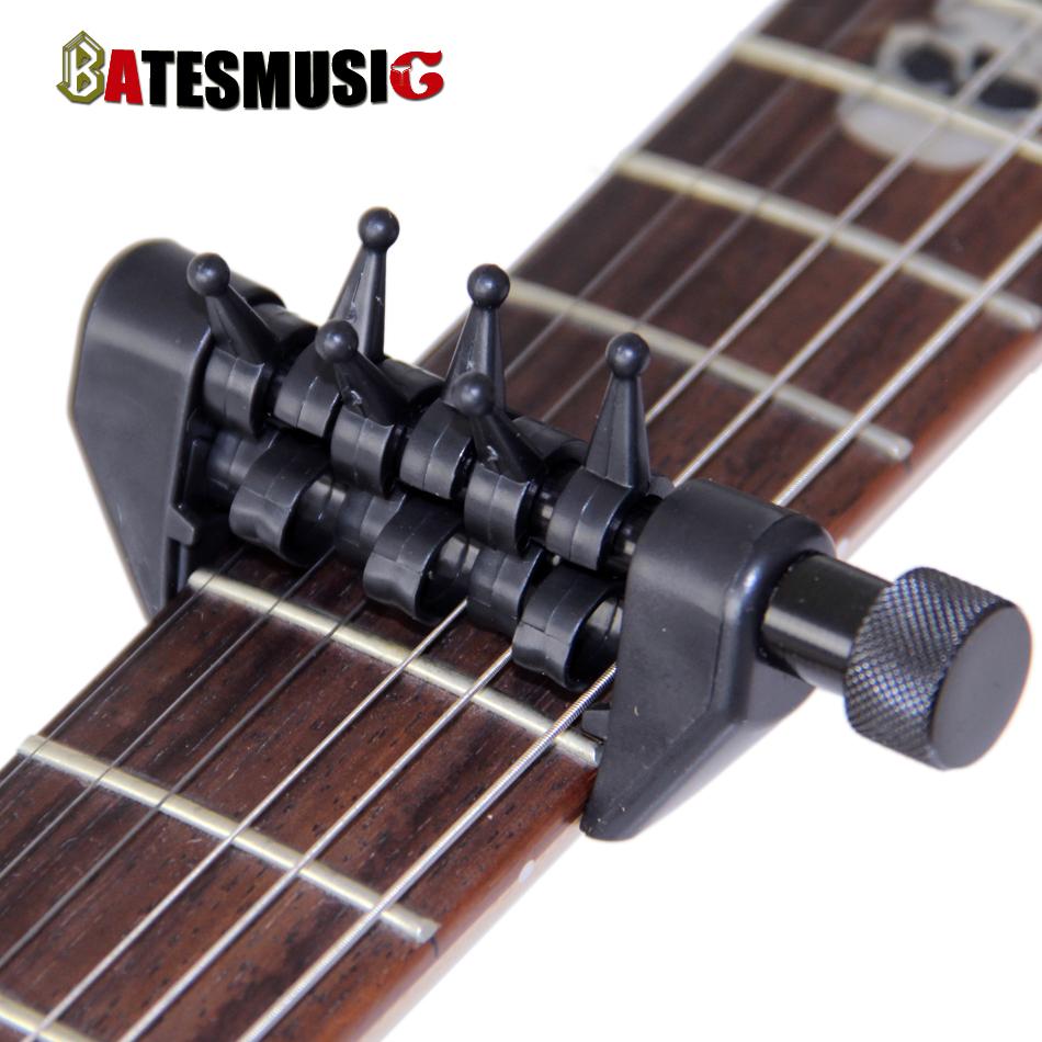 black flanger flexi capo portable alternative tuning capo for guitar accessories in guitar parts. Black Bedroom Furniture Sets. Home Design Ideas