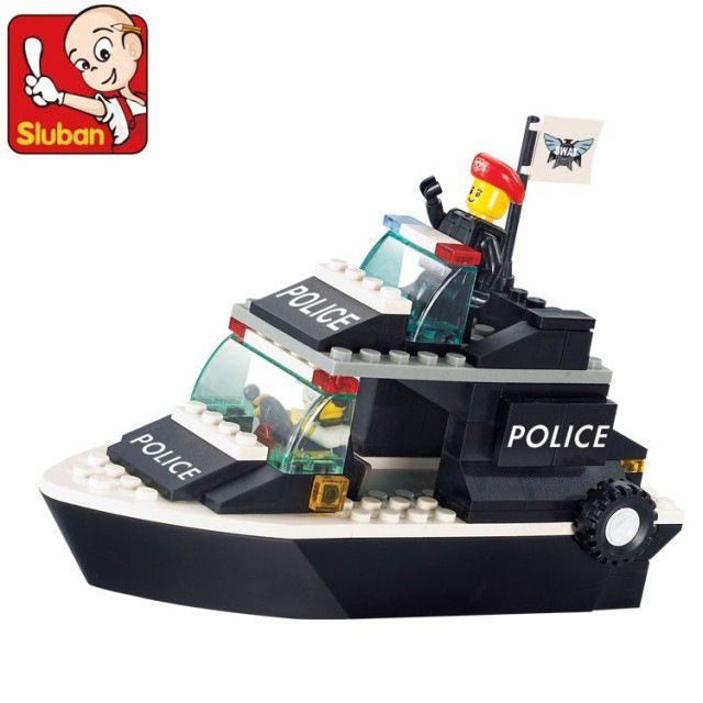 Building Block Sets Compatible with lego military Patrol Craft 3D Construction Brick Educational Hobbies Toys for Kids