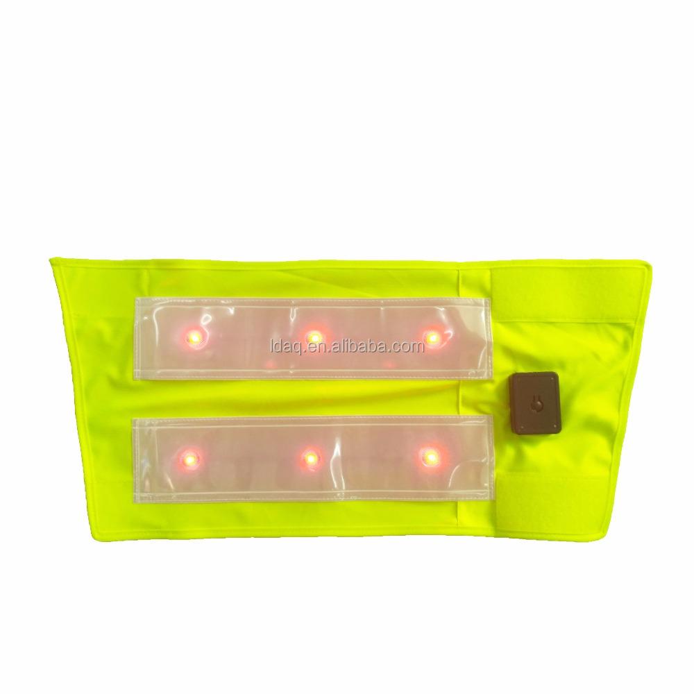 Перезаряжаемый светодиодный светоотражающий ремень для ног