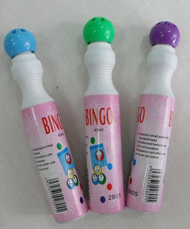 Attractive bingo game with 43ml