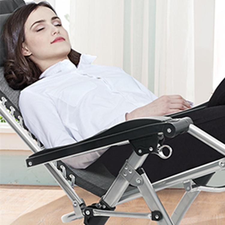 High Quality Zero Gravity With Armrest Beach Sun Lounger Metal Folding Chair