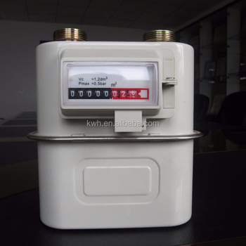 Prepayment Steel Case Gas Meter G4.0 for natural gas meter