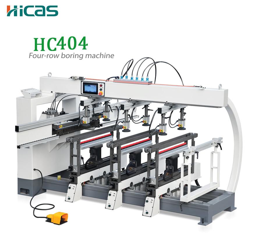Сверлильный станок для деревообработки HICAS Однорядный и трехрядный