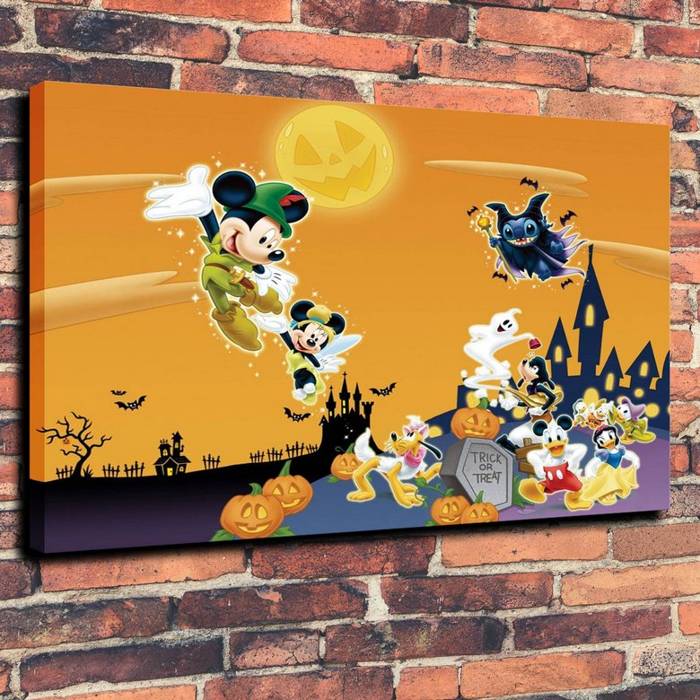 Halloween Cool Entertainment Holiday Ultra Wallpaper Print Oil Painting on Canvas Wall Art Picture Home Decoration ( No Framed )