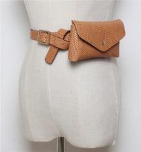 Mihaivina модная плетеная поясная сумка для женщин, вязаная поясная сумка, винтажная поясная сумка из искусственной кожи, дорожная поясная сумк...(Китай)