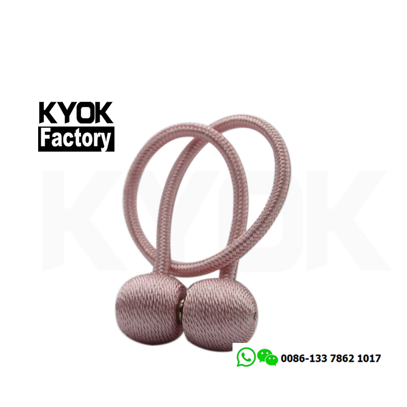 KYOK Home decoration curtain accessories superior quality curtain tie back hooks, Magnetic Curtain Tieback