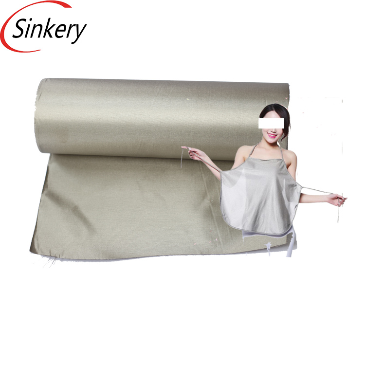 ESD rfid protection shielding conductive fabric for pregnant women