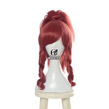 Женские волосы для косплея ROLECOS, Лол кДа Акали, Длинные Синтетические волосы для косплея(Китай)