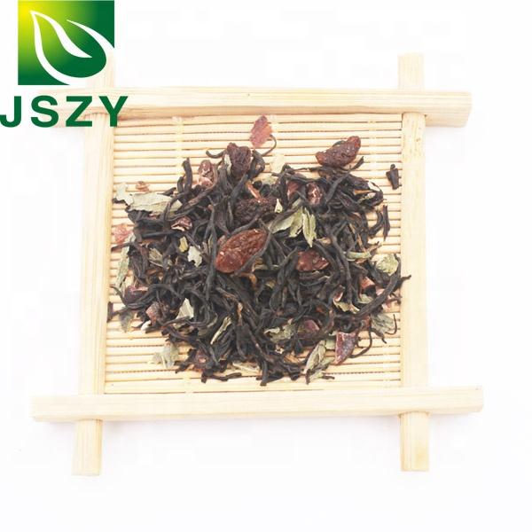 Blended tea, dried fruit tea, Mint Chocolate black tea - 4uTea | 4uTea.com