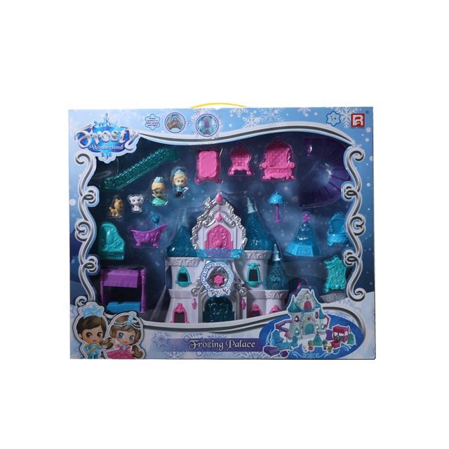 Детский игровой набор замораживающего замка
