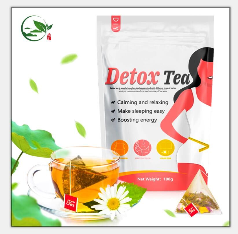 28 Day Private Label Herbal Slimming Triple Leaf Detox Teaskinny Tea - 4uTea | 4uTea.com