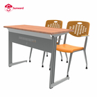 School Furniture Student School Desk Ergonomic Student Desk And Chair Set Double Table School College Furniture And University