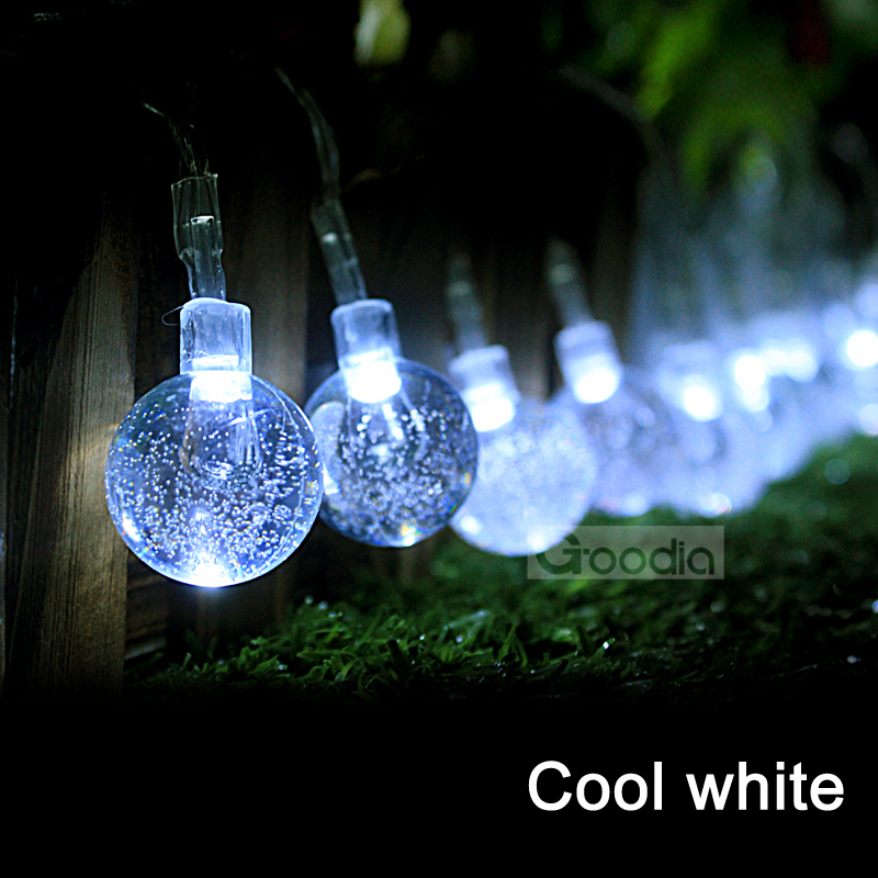 AA Battery cool white Christmas Lights 175 Inches 40 LED ...