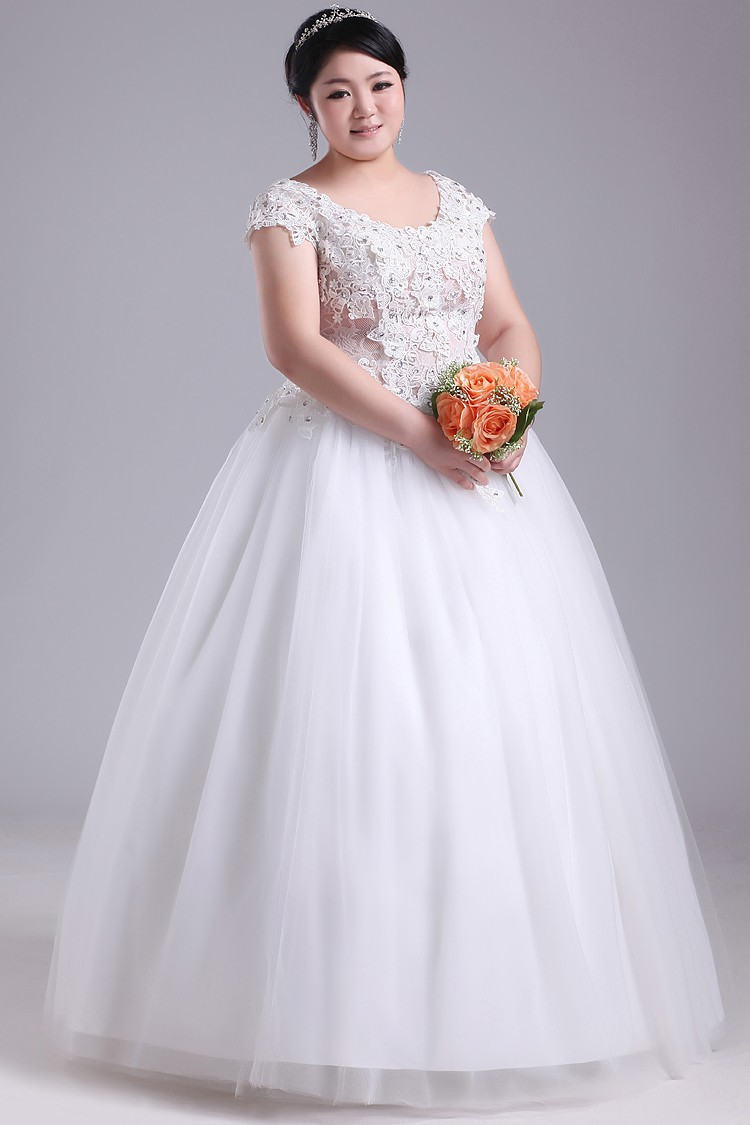 Cheap Ball Gown Wedding Dresses: Cheap-Long-Floor-Length-Lace-Up-Tulle-Organza-Bridal-Skirt