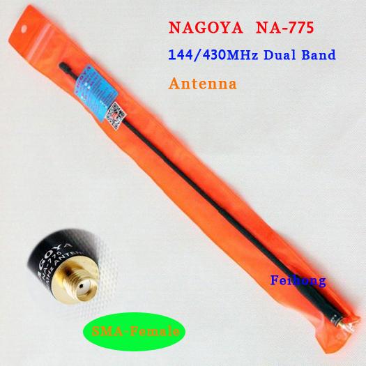 New NAGOYA NA-775 SMA-F UHF+VHF Handheld Antenna for walkie talkie Kenwood  UV-5R 888s H777 HYT BAOFENG PUXING TYT J10YC