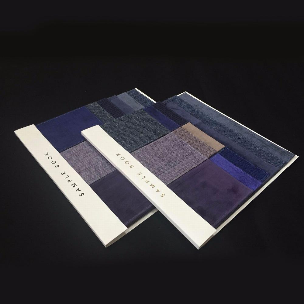 Hot Sale Book Box Cloth Fabric Swatch
