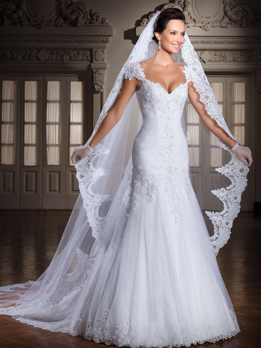 c8e7318be7 Holitas amigas que tal éste bello traje de novia ...