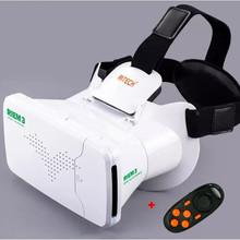 RITECH III RIEM3 VR Virtual Reality 3D Glasses Head Mount Oculus Rift Google Cardboard + Phone Wireless Bluetooth Remote Control