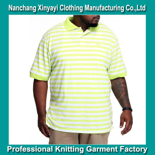 Plus Size Xxxl Big Size Polo Shirt For American Men/winger Striped Pique Big Size Polo Shirt/bright Color Xxxl Polo - Buy Plus Size Men Polo ...