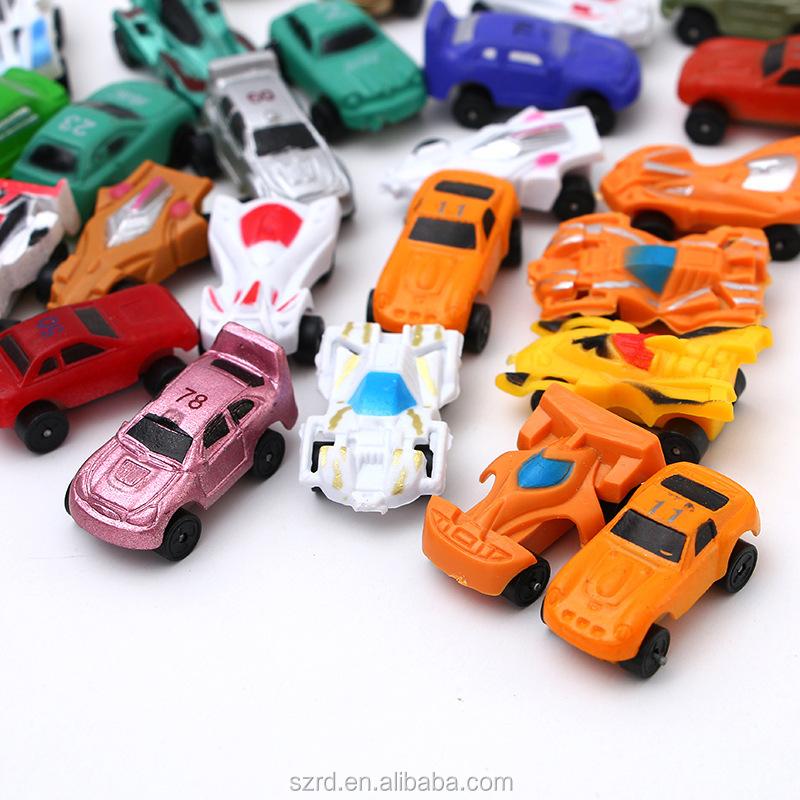 Cheap Mixed Tiny Car Model Toy OEM Surprise Egg Capsule Miniature Plastic Toys