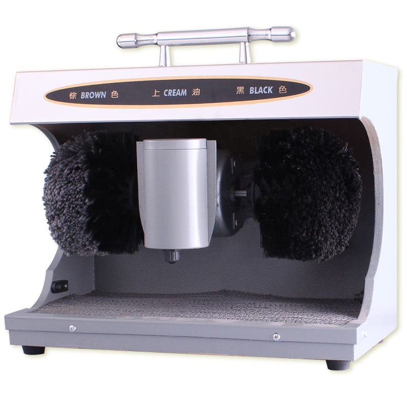 CXJ01 Dust Removal Bright Leather Automatic Hotel Shoe Polishing Machine