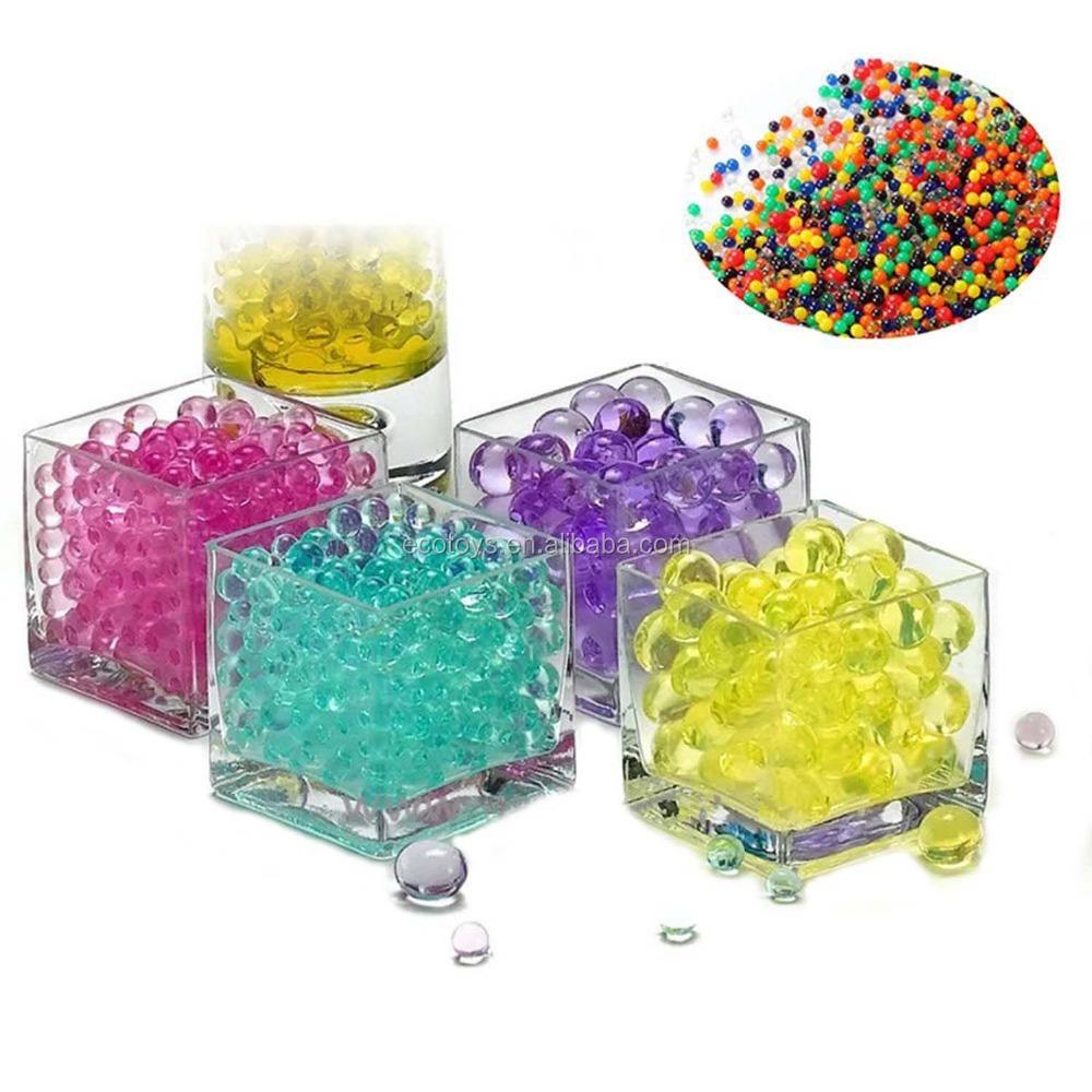 12 Colores EcoGo 24 Colores Cuentas de Agua Abalorios Perlas Abalorios de Agua