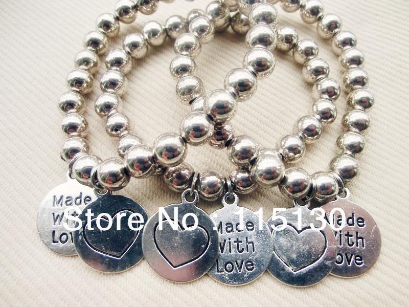 Girl charm bracelet  Etsy