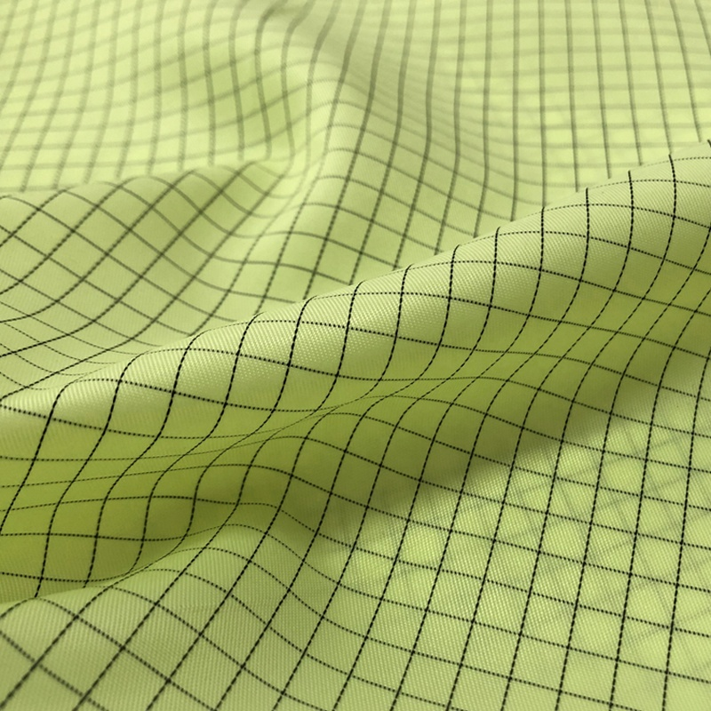 Electrically Conductive carbon fiber Fabric for Cleanroom Smock