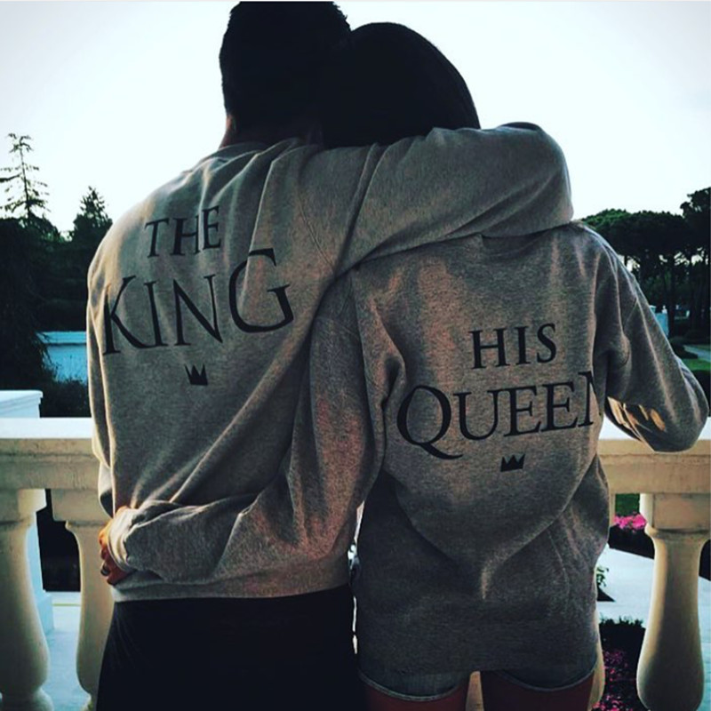 Mr Mrs Couples Hoodies 2016 New Letter Printed Tops