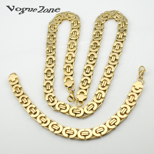 Mens Gold Byzantine Necklace: Aliexpress.com : Buy Mens Gold Plated Chain Stainless