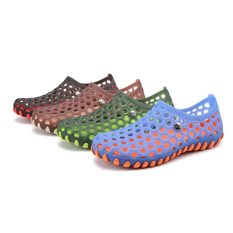 wear-resisting men holeys eva injection shoes clogs