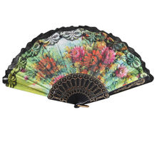 Китайский стиль ручной вентилятор из бамбуковой бумаги, Складывающийся вентилятор, вечерние свадебные украшения, 13 P30, чехол для фанатов, По...(Китай)