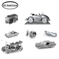 Metal Earth 3D Model Kits 7 Vehicles Cable Car Beach Buggy Checker Cab Steam Locomotive Ford