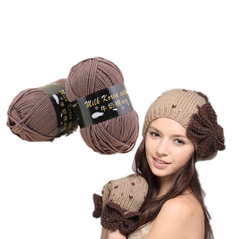 2019 new style knitting cotton yarn price for crochet yarn
