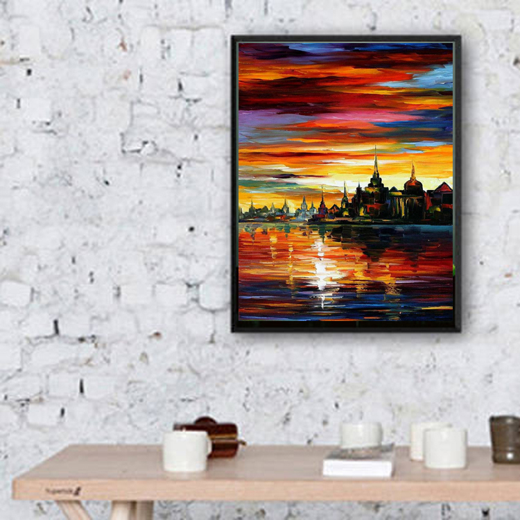 Beautiful Abstract Oil Paintings