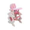 Pink baby highchair