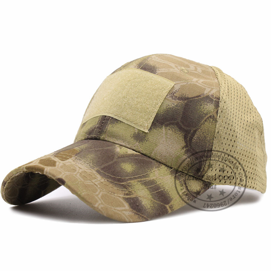 ACU Woodland Marpat Low Crown Multicam Operator Hat Camo Mesh Cap Airsoft Hats Tactical Contractor Army Baseball caps STOCK
