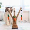 cat carrot tree toy